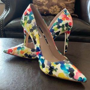 Dune multicoloured stiletto heels NWOT